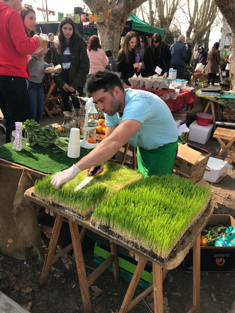 Se viene un mercado vegano todos los jueves en Parque Rivadavia, Caballito, CABA!